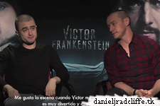 Updated: Victor Frankenstein press junket interviews (Mexico)