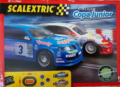 Circuitos: Scalextric Circuito Copa Junior Tecnitoys