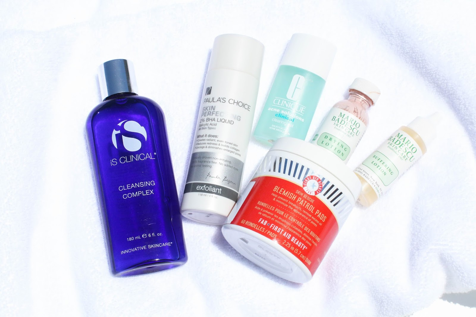 The best products to help treat and prevent breakouts.
