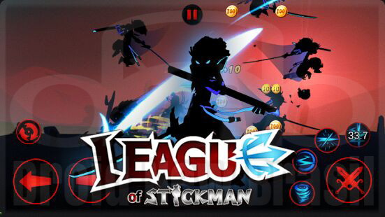 Download League of Stickman Free-Shadow v4.02 [APK MOD]