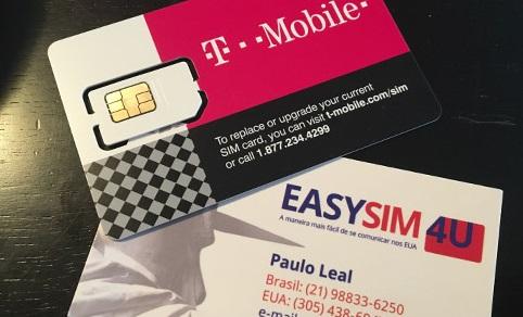 Chip Pre Pago para celular na Argentina