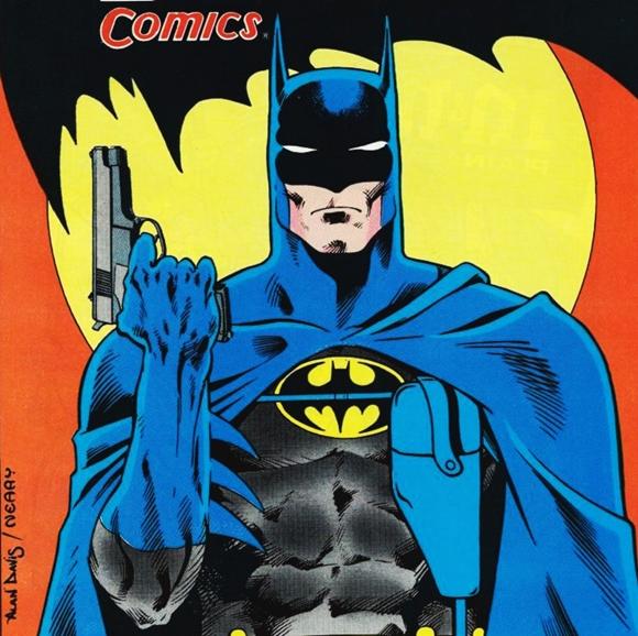 En Batman Año Dos Batman utilizó pistola