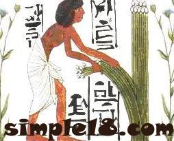المصريون القدماء في صناعة المنسوجات الكتانية