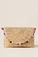 https://www.francescas.com/product/rainbow-pom-pom-straw-clutch.do