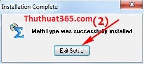 Cách cài đặt phần mềm MathType trên máy tính-1