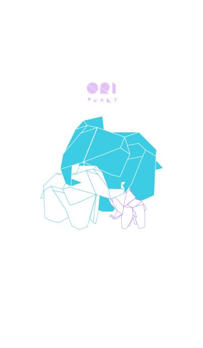 Ori-phant | an origami elephant