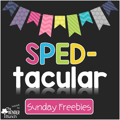 SPED-tacular Freebies!