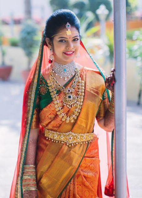 Brides in Antique South Indian Jewellery