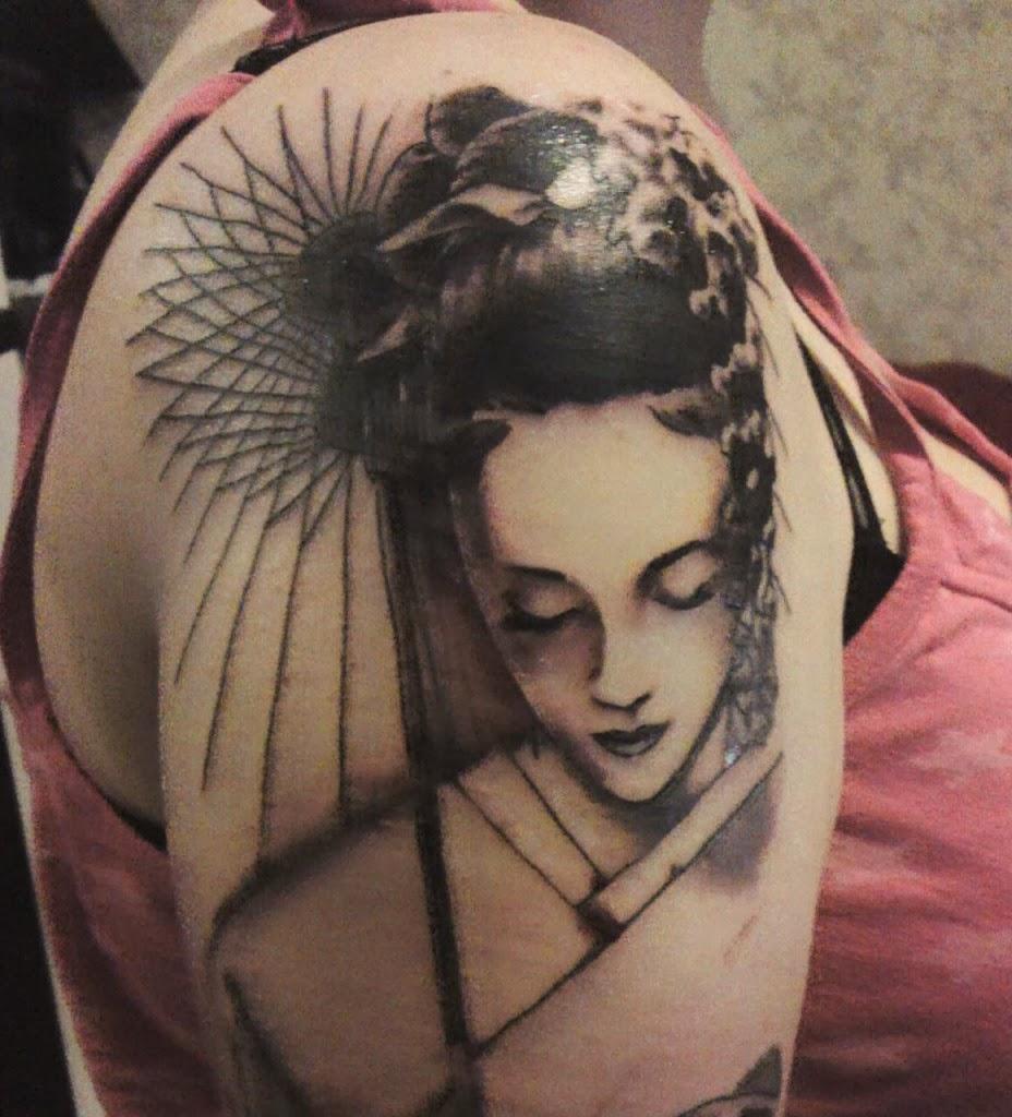 Woman Japanese Tattoo Art Asian