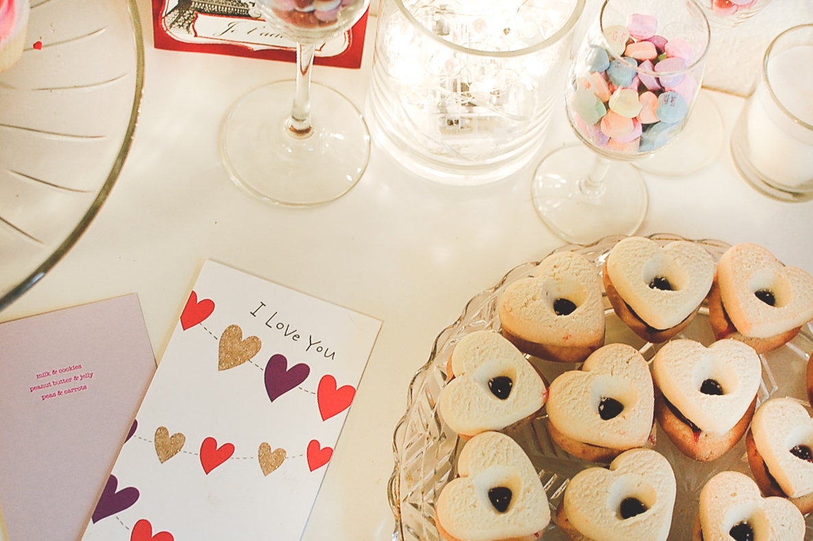 DIY Dessert Bar: The Month of Love in Paris