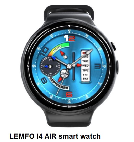 LEMFO I4 AIR smart watch - features and specifications