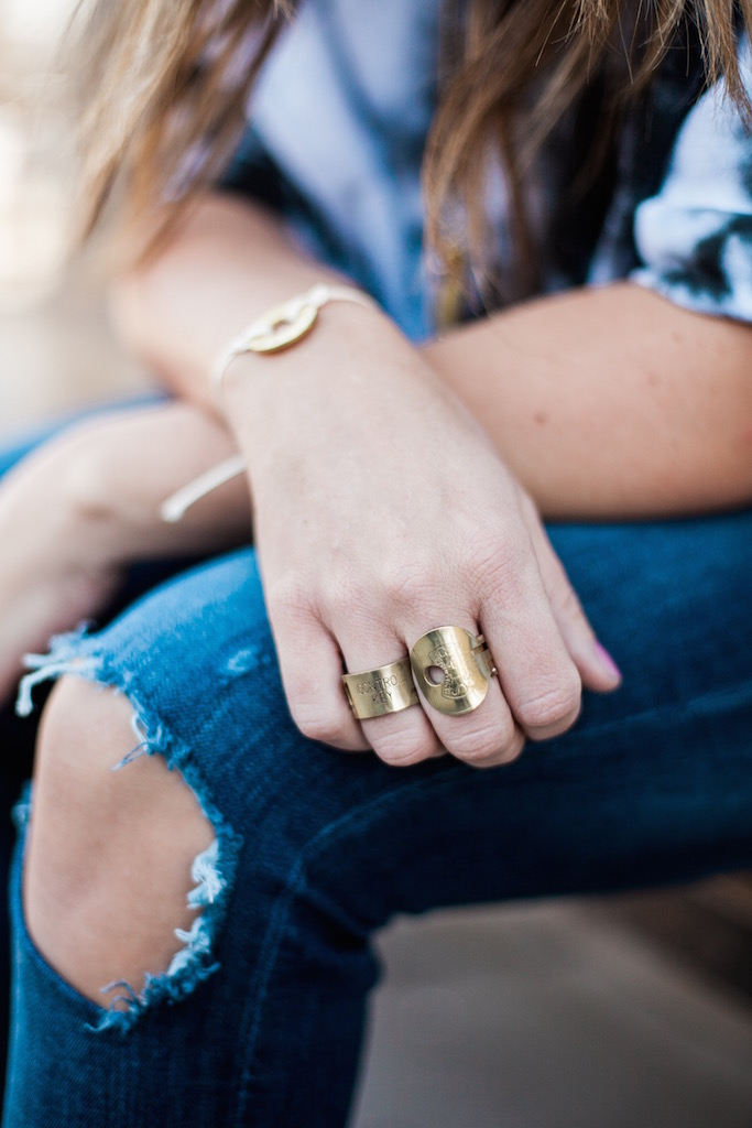 KBStyled: jojo rings key rings gold rings antique rings