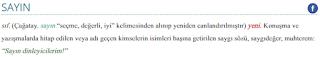 """""""Sayın Bilâl Erdoğan Hazretleri""""(!)"""
