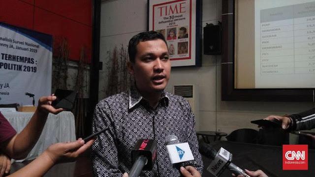 LSI: PDIP Bisa Cetak 'Hattrick', Golkar Buat Rekor Buruk
