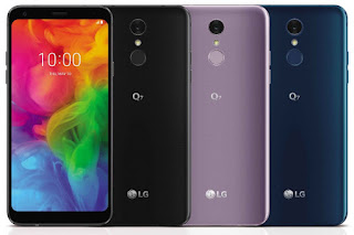 LG Q7, Q7+,Q7α with 18:9 Display launched