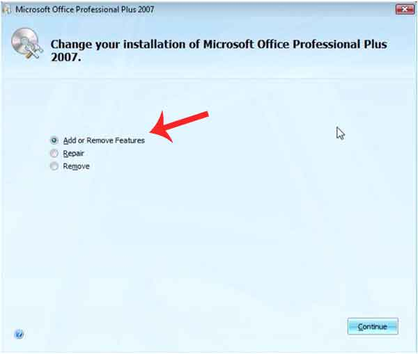 Membuka file microsoft office tools document imaging