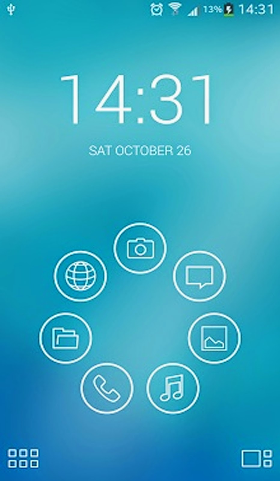 downlod Light Lines Smart Launcher Theme - android app