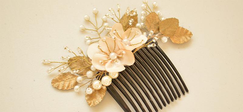 ca08d245647fd DIY Cocoa Abalorios  Cómo hacer un tocado de novia o invitada