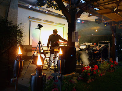 Alerick Project & Gabriele Quirici live @ Winnies Schwingungen Gartenparty 2016 / photo S. Mazars