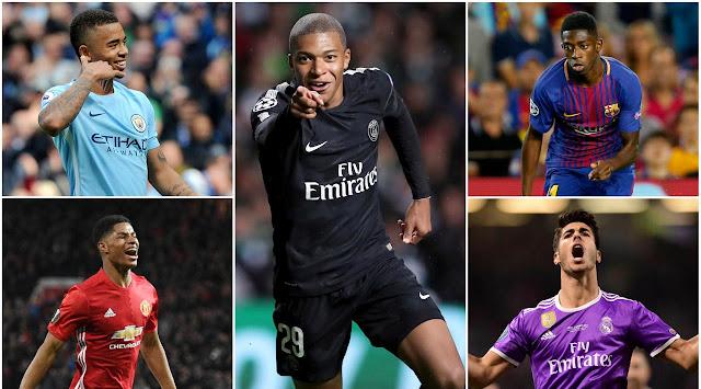 5 Bintang Muda Penerus Messi dan Ronaldo di Liga Champions