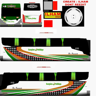 Download Livery Scorpion Holidays