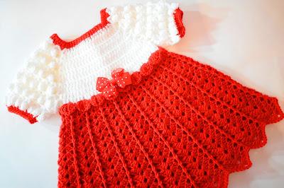 Imagen Vestido de fiesta de navidad en color rojo 3