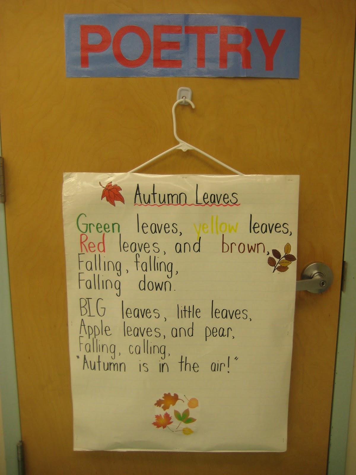 Kindergarten Smiles Poetry Notebooks