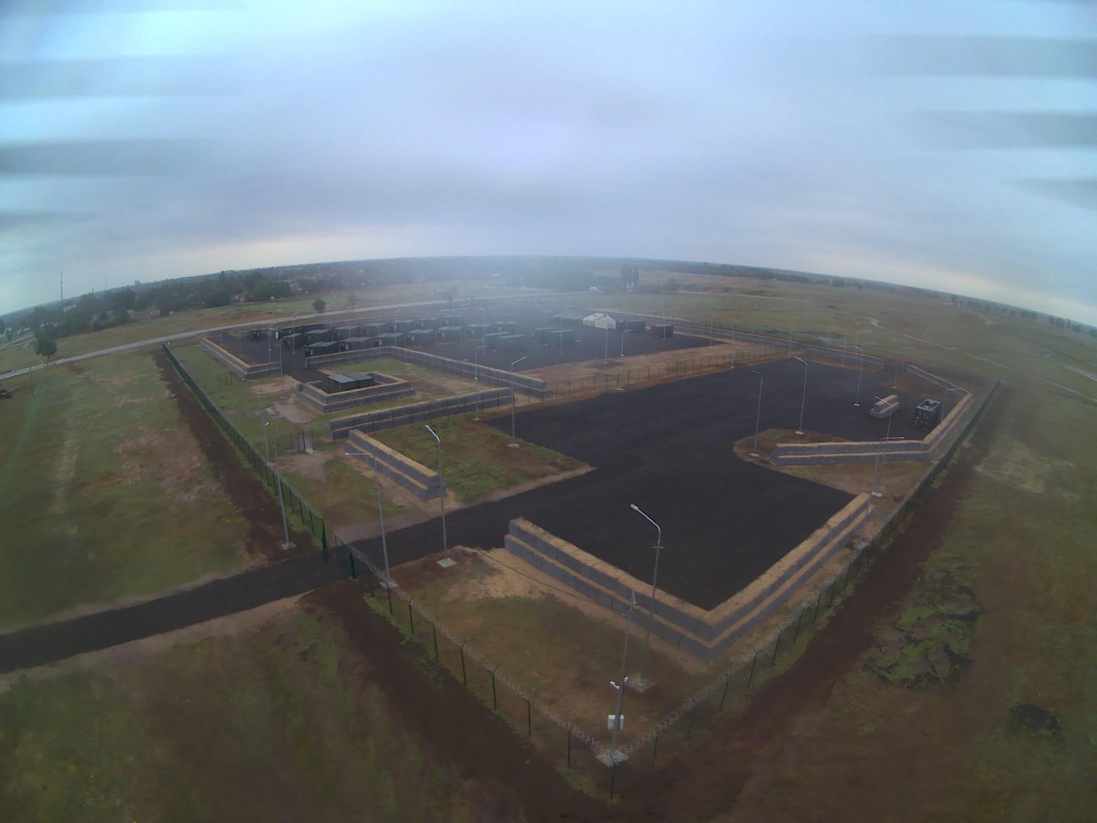 На Херсонщині збудували польову базу модульного типу