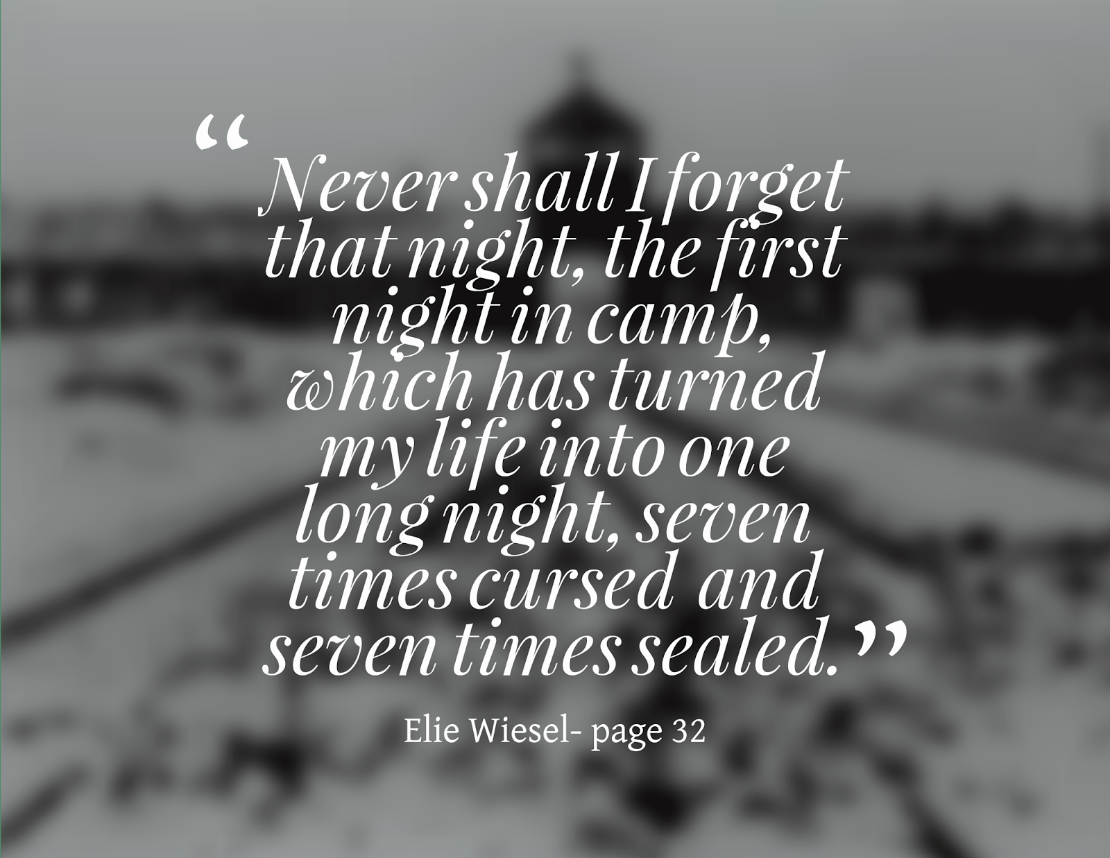 Night Quotes By Elie Wiesel With Page Numbers