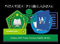 Perangkat Pembelajran Qur'an Hadist MTs Kelas VII,VIII dan IX