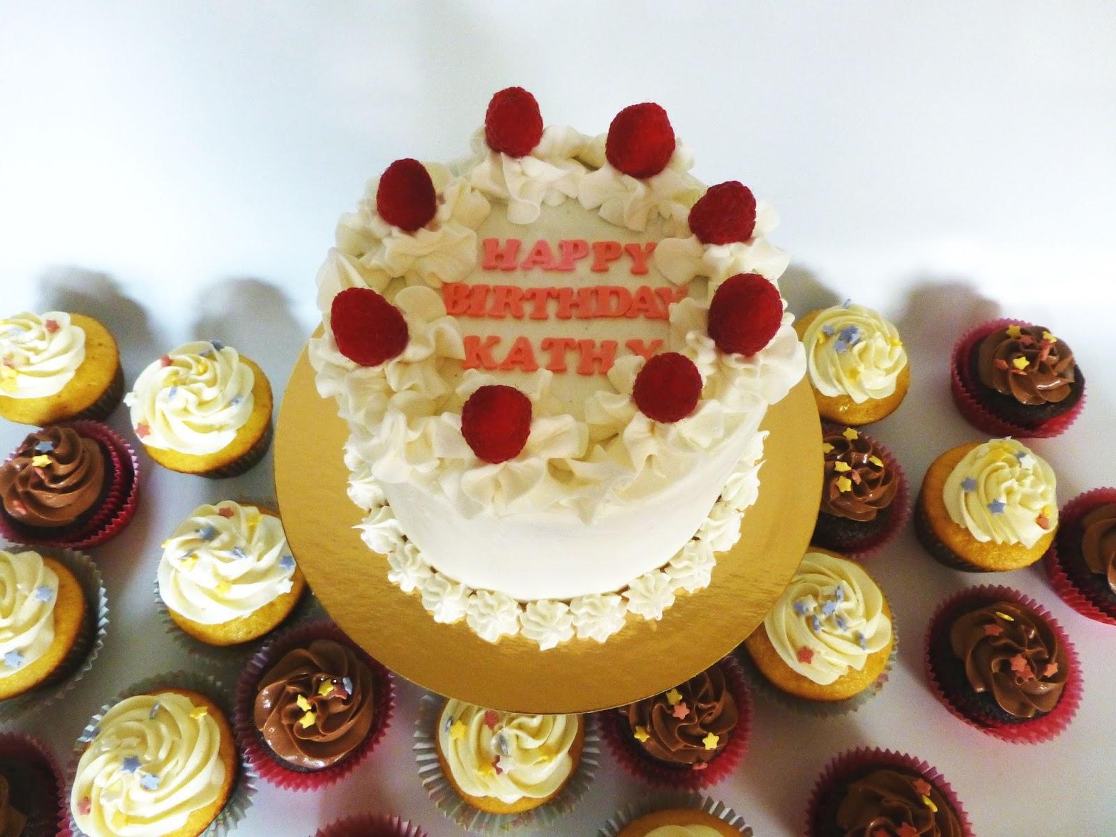 Happy Birthday Kathy Cake Make Up