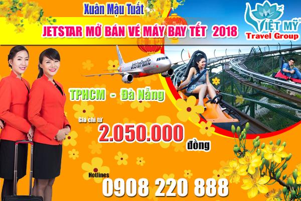 Jetstar mở bán vé máy bay tết 2018 đi Đà Nẵng