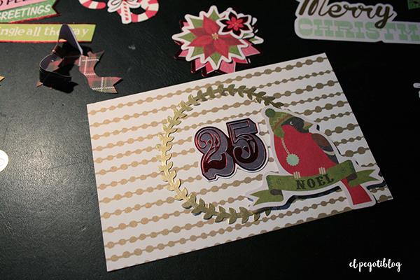 Felicitaciones de Navidad hechas a mano, para recuperar viejas costumbres, por el Pegotiblog