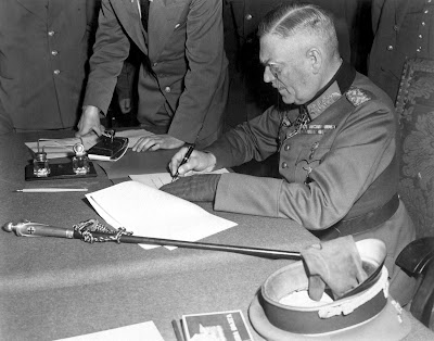 German signing surrender