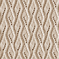 Eyelet Lace 84: Ribbon | Knitting Stitch Patterns.
