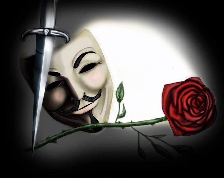 v for vendetta rose wallpaper -#main