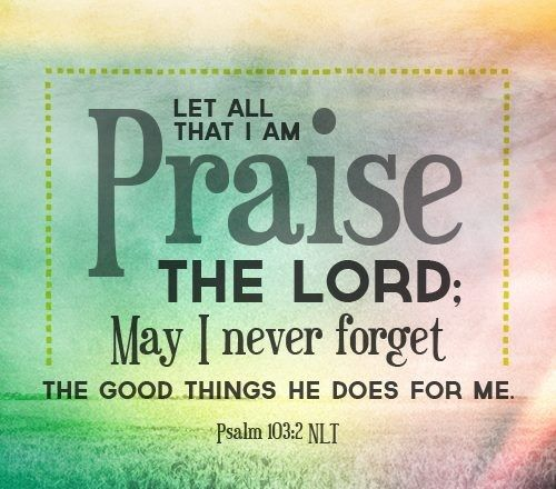 { Praise the Lord }