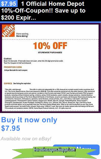at home coupon 2017 printable coupons 2018 home depot coupons 10371