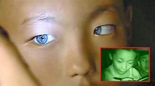 Un niño chino con la capacidad de ver en la oscuridad desconcierta a los cientificos