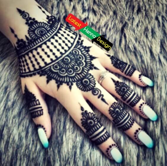 you need we delivered the best all in one backhand henna designs for your upcoming event-latesthennadesigns