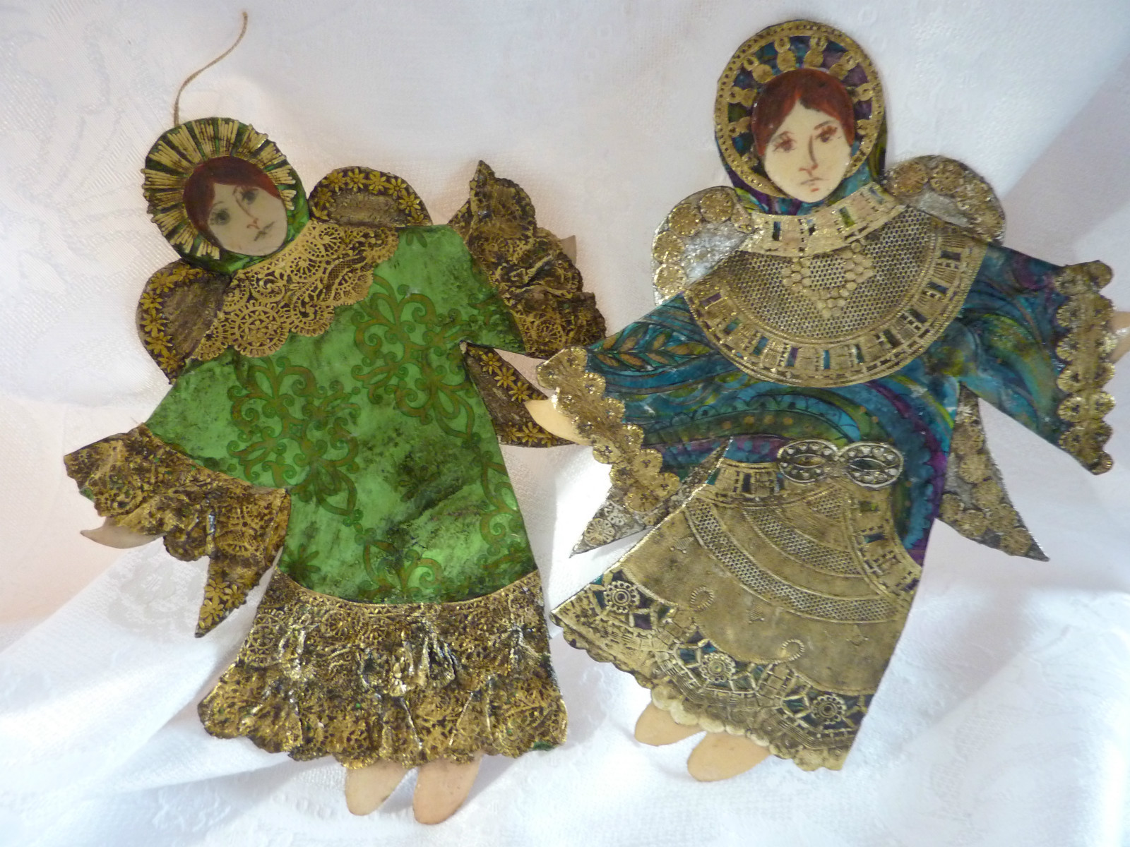 EKDuncan - My Fanciful Muse: Vintage Dresden and Pressed ...