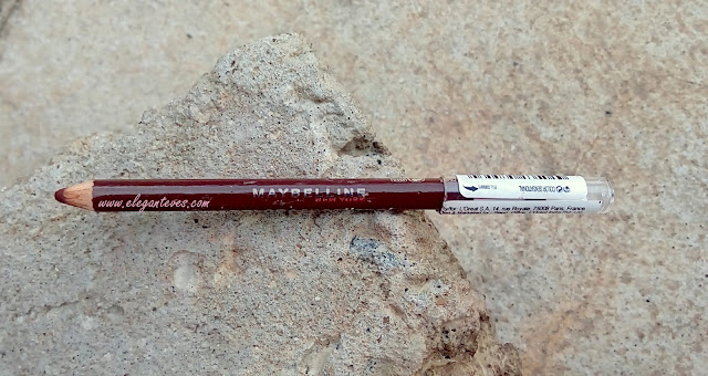 Maybelline Colorsensational Lip Liner Copper Brown review india swatch