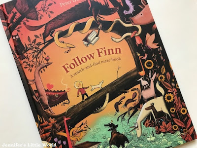 Follow Finn maze book review