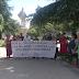 Concentración-marcha desde el ayuntamiento hasta la estatua de Fernando VI por un nuevo asesinato en Sevilla