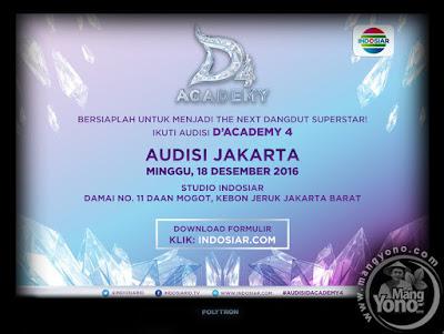 Audisi D'Academy 4 (DA4) Indosiar Di Kota Jakarta