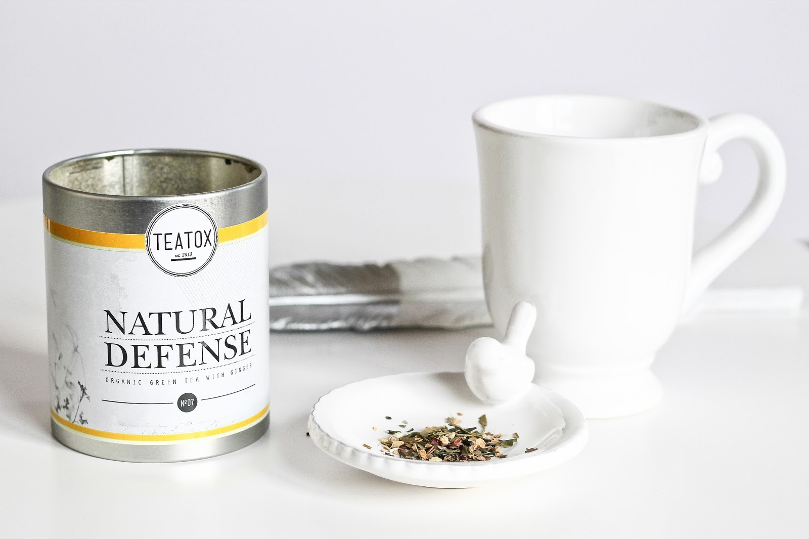 teatox tea tox detox detoxifiant thé the time mincir faire attention rééquilibrage alimentaire cure skinny detox mug mr wonderful good morning good night matin soir natural defense immunitaire