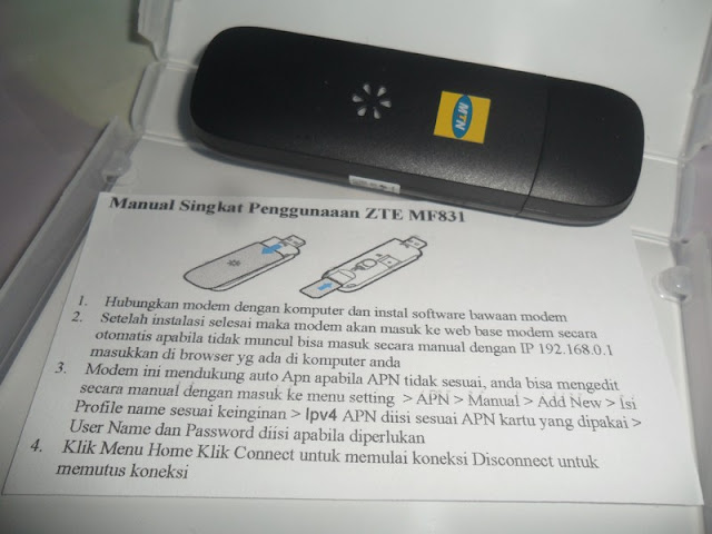 Review Modem 4G LTE ZTE MF831, Work dan Murah !