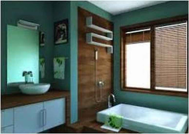 Ideas For Decorating A Bathroom With Blue Fixtures FD R2G