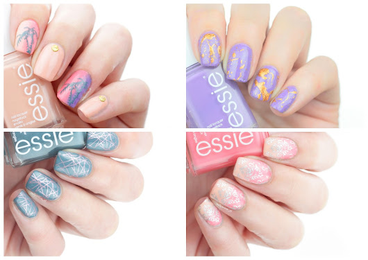 NAIL PASSION: 4 x Nail Art | Essie Lounge Lover Collection