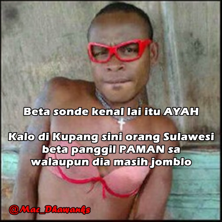 Kumpulan Gambar Meme Lucu Bahasa Bali